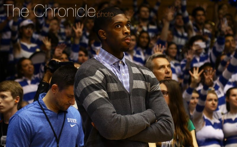 Amile Jefferson averaged a double-double before a December injury sidelined him for the last 27 games of the season.
