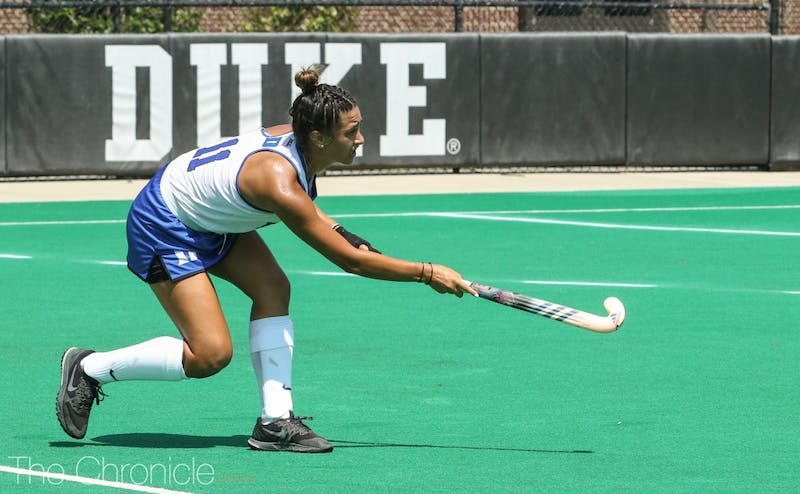 Carolina Andretta put the Blue Devils up early to secure the win over the Orange.