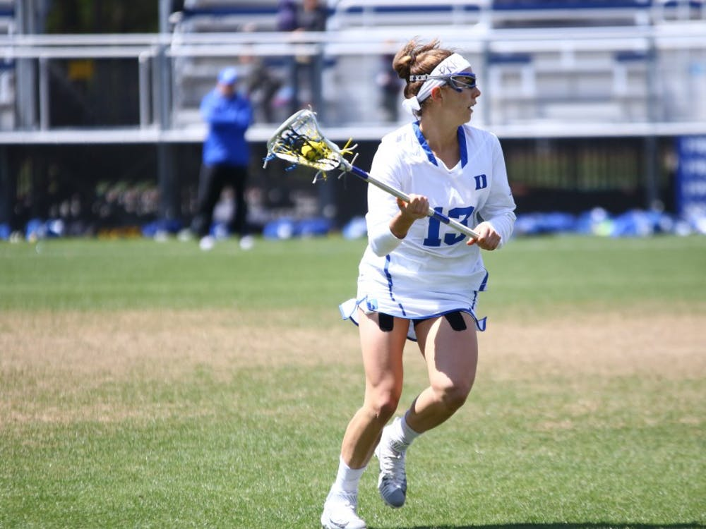 The Blue Devils had trouble scoring in the second half, managing just three goals as the Fighting Irish came from behind to tie the game and ultimately win in overtime.