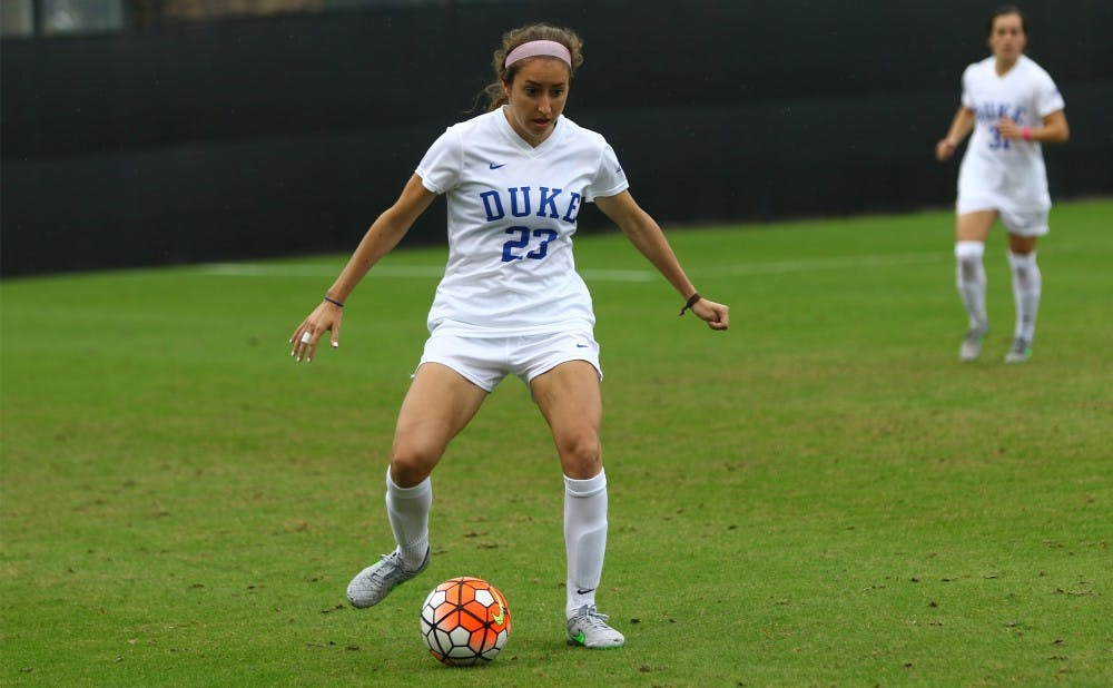 <p>Danielle Duhl and the Blue Devils are headed back to the postseason after missing out on the festivities for the first time since 2002 last fall.</p>