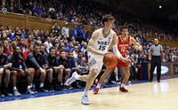 Alex O'Connell sparked the Blue Devils offense with key buckets off the bench.