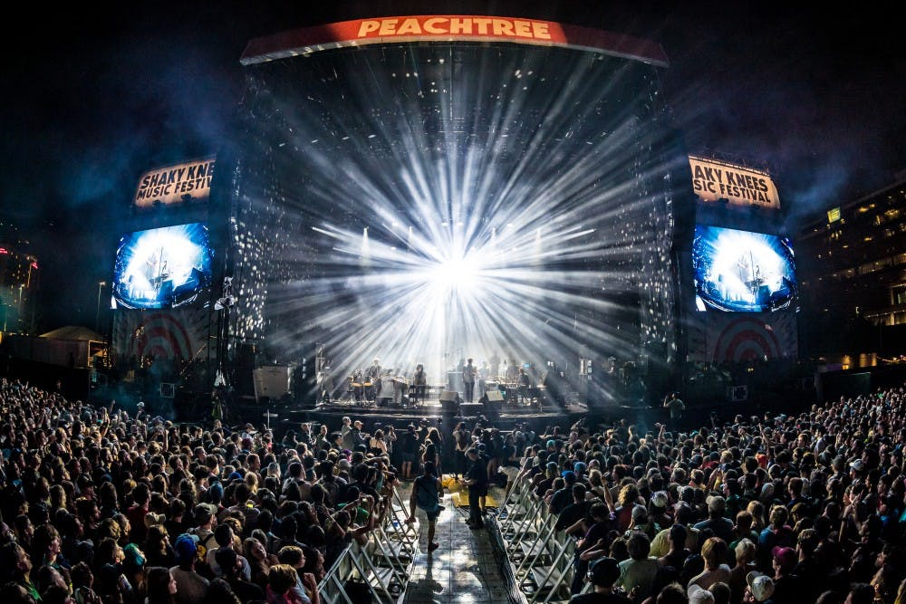 <p>LCD Soundsystem headlined Atlanta's Shaky Knees Music Fest, one of a number of major music festivals created in the wake of Coachella's success.</p>