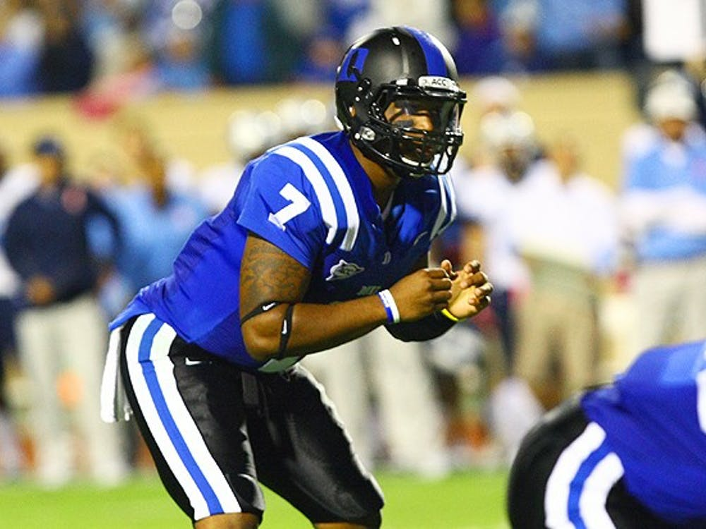Anthony Boone saw action in 11 games last season, but will now be Duke's full-time starting quarterback.