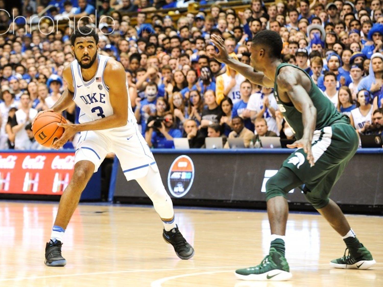 Duke will need someone to step up and stop Miles Bridges like Matt Jones did last year.