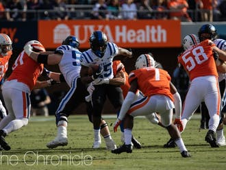 Duke has lost four consecutive matchups to the Cavaliers, including an embarrassing 48-14 defeat last October.
