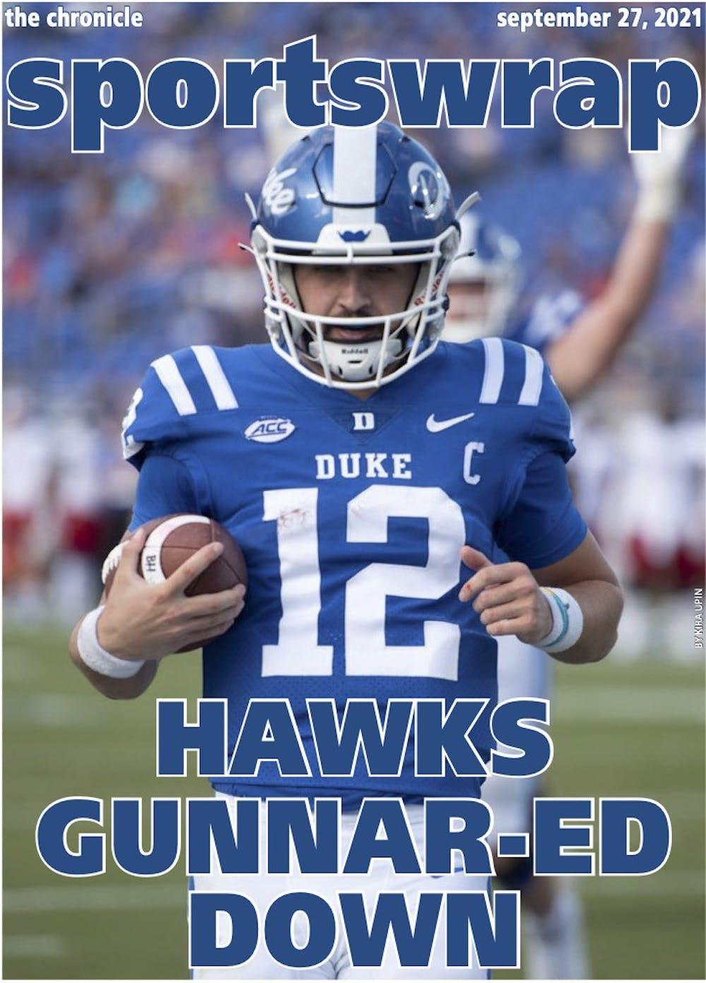 <p>Quarterback Gunnar Holmberg accounted for five touchdowns against Kansas.</p>