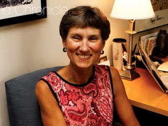 Sue Wasiolek is the legendary former dean of students known as Dean Sue and the faculty-in-residence in Gilbert-Addoms dorm. The pandemic has prevented many of the interactions she would usually have with students in the dorm.