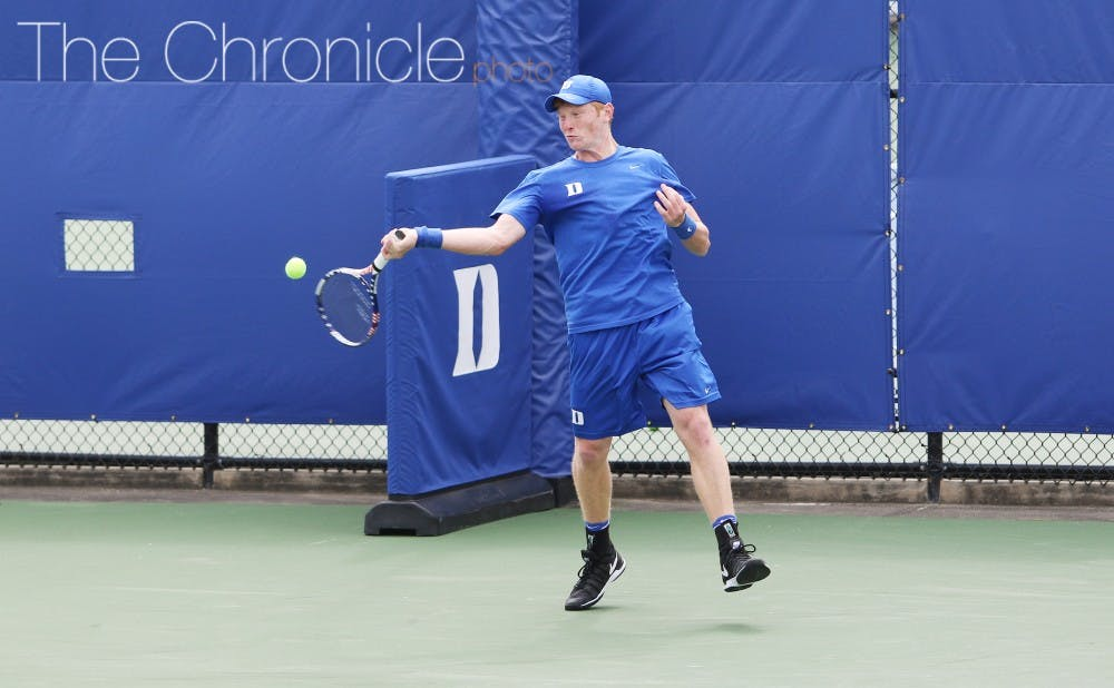 <p>Sophomore Ryan Dickerson was involved in two close doubles matches this weekend and posted two decisive wins in singles as well.&nbsp;</p>