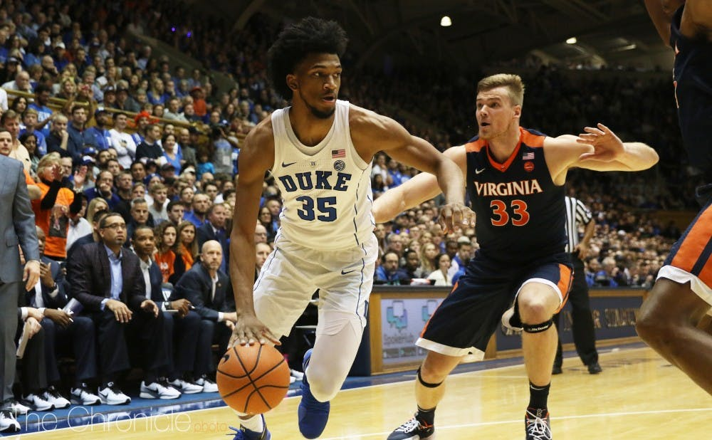 <p>Marvin Bagley III had another double-double with more than 20 points and 10 rebounds.</p>