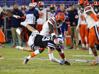 Syracuse obliterated Duke 49-6 in the two teams' matchup last season.