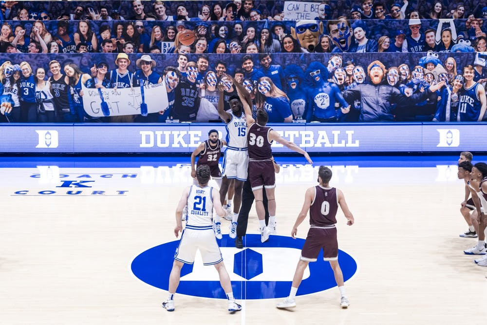 <p>Multiple Blue Devils expressed their disappointment via Twitter when their season was shockingly ended due to a COVID-19 positive test within the program.</p>