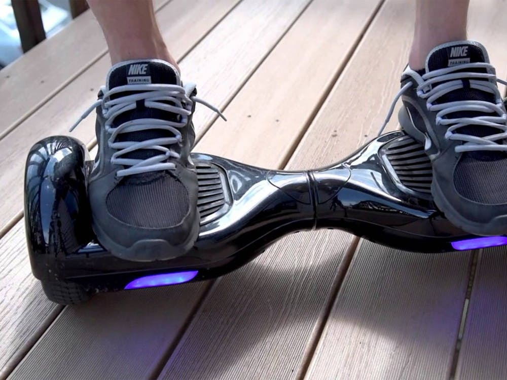 Hoverboards have been reported to spontaneously ignite, leading approximately 20 colleges around the country to ban the self-balancing scooters.