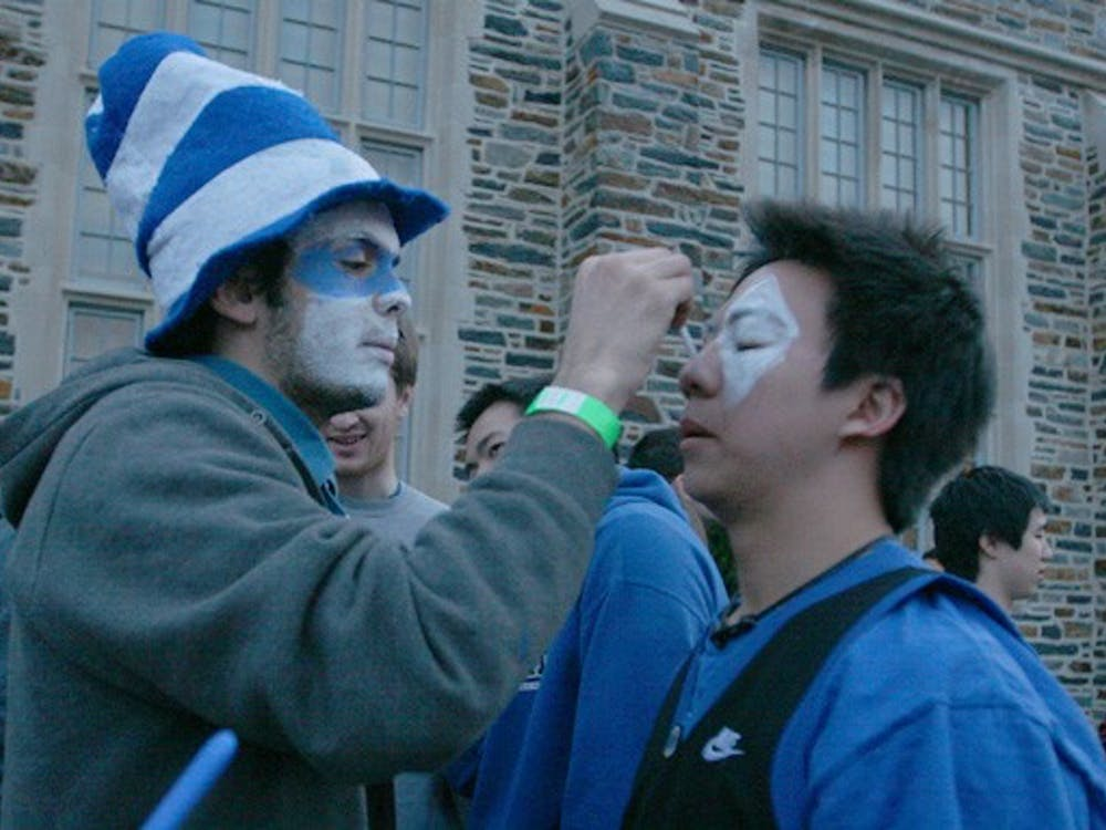 Students who choose to wait in the walk-up line are not guaranteed admission to the Duke-North Carolina game.