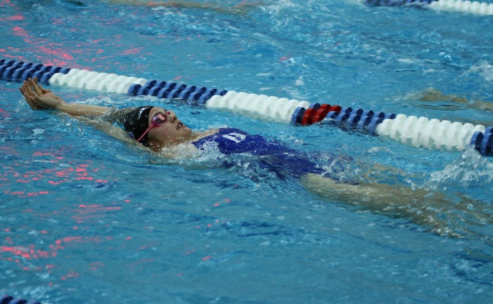 <p>The Duke women shattered several records but came up just short of a team title on the final day of competition after holding the lead for most of the weekend.</p>