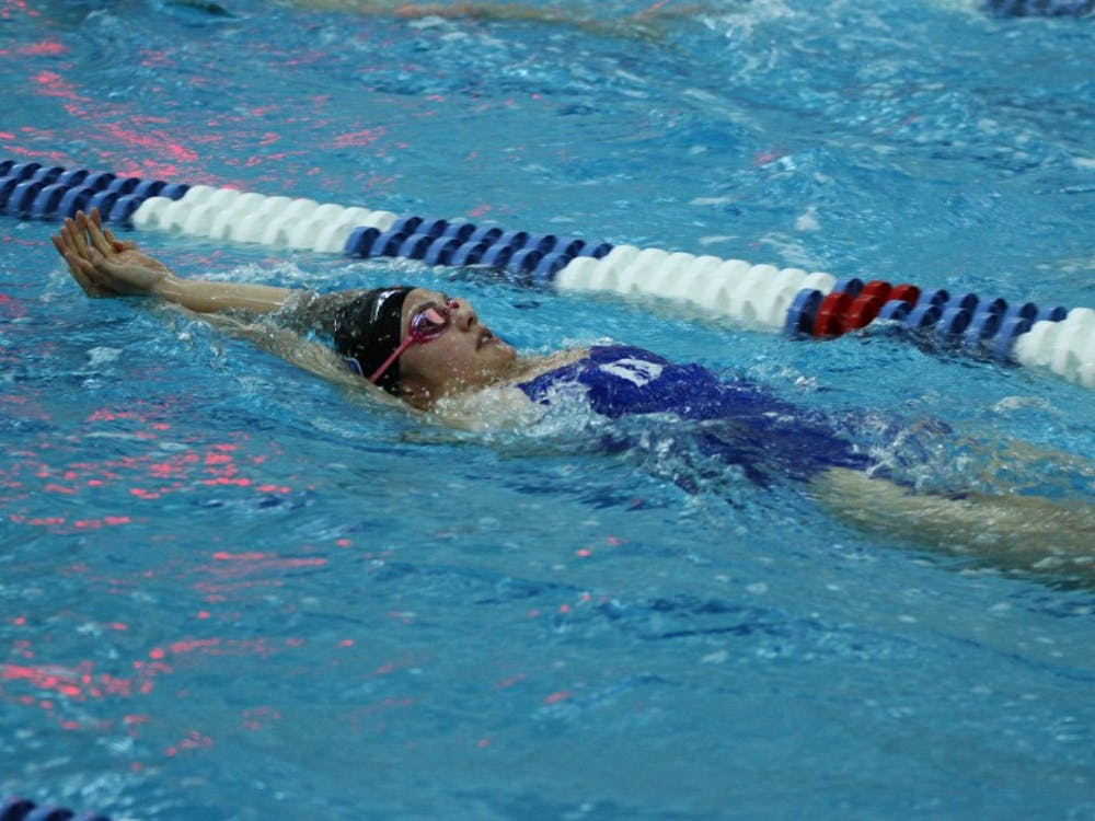 The Duke women shattered several records but came up just short of a team title on the final day of competition after holding the lead for most of the weekend.