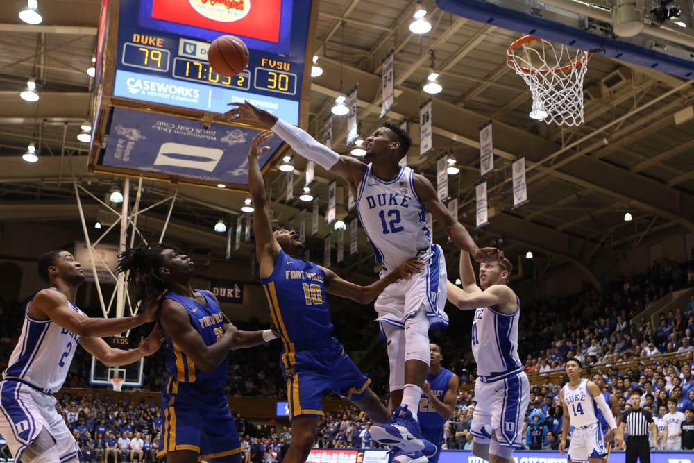 A Look At Duke Men S Basketball S 2019 20 Regular Season