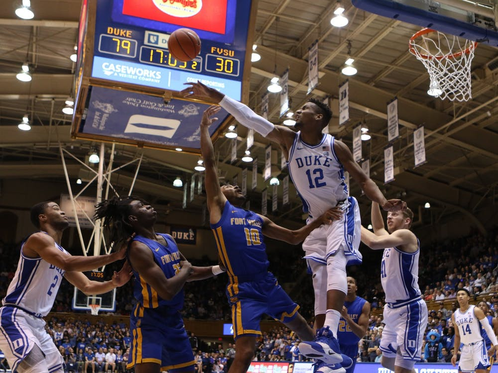Duke's 2019-20 schedule will feature games against five teams in the top-11 of the AP preseason poll.
