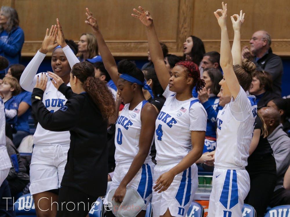Duke kept rolling Thursday night, extending its winning streak to five.