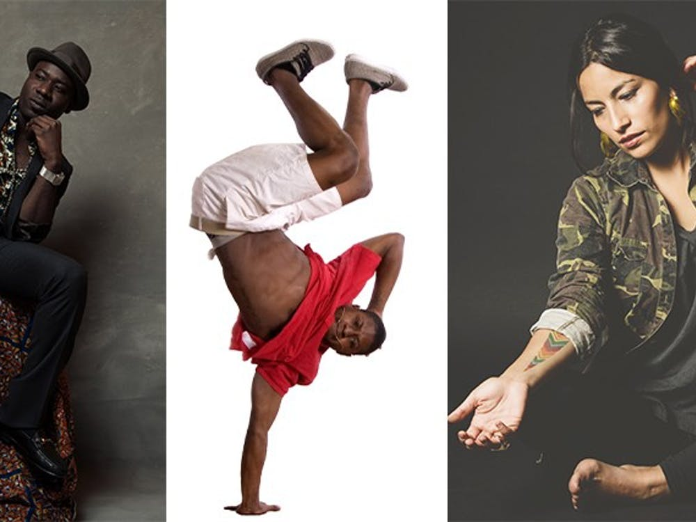 Blitz the Ambassador,Rennie Harris Puremovement dancers and Ana Tijouxwill perform at Duke this Fall.