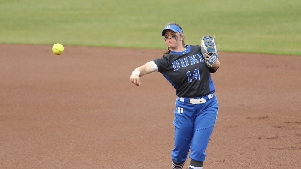 Senior captain Raine Wilson has seen the Duke softball program grow immensely since its inaugural 2018 campaign.