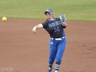 Senior captain Raine Wilson has seen the Duke softball program grow immensely since its inaugural 2018 campaign.
