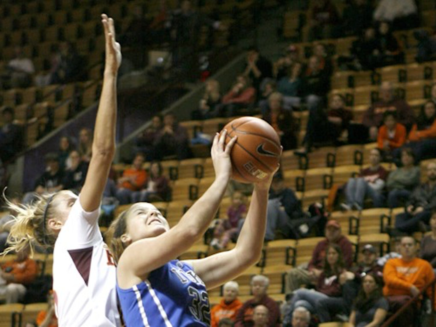 Kathleen Scheer and the Blue Devils will look to avoid overlooking Georgia Tech with major matchups with Maryland and Connecticut looming.