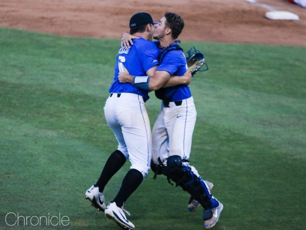 Duke beat No. 8 national seed Georgia twice on the Bulldogs' home field to clinch the Athens Regional.