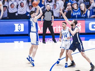Matthew Hurt has been on fire for the Blue Devils beyond the arc.