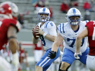 Chase Brice continued to struggle with turnover problems in the loss to N.C. State.