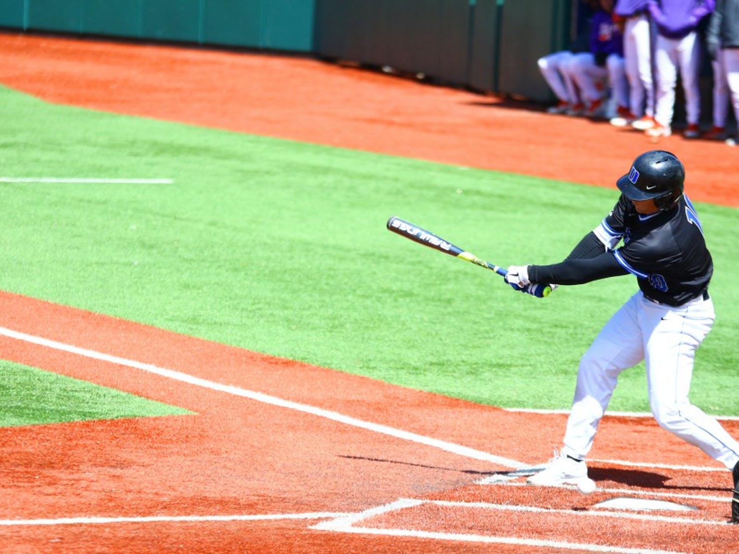 Sophomore Peter Zyla recorded four hits and three RBIs during Duke's weekend series win against then-No. 21 Clemson.
