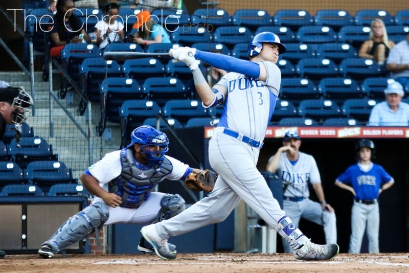 Justin Bellinger was the first Blue Devil taken in this week's MLBDraft, going to the Cincinnati Reds in the 22nd round.