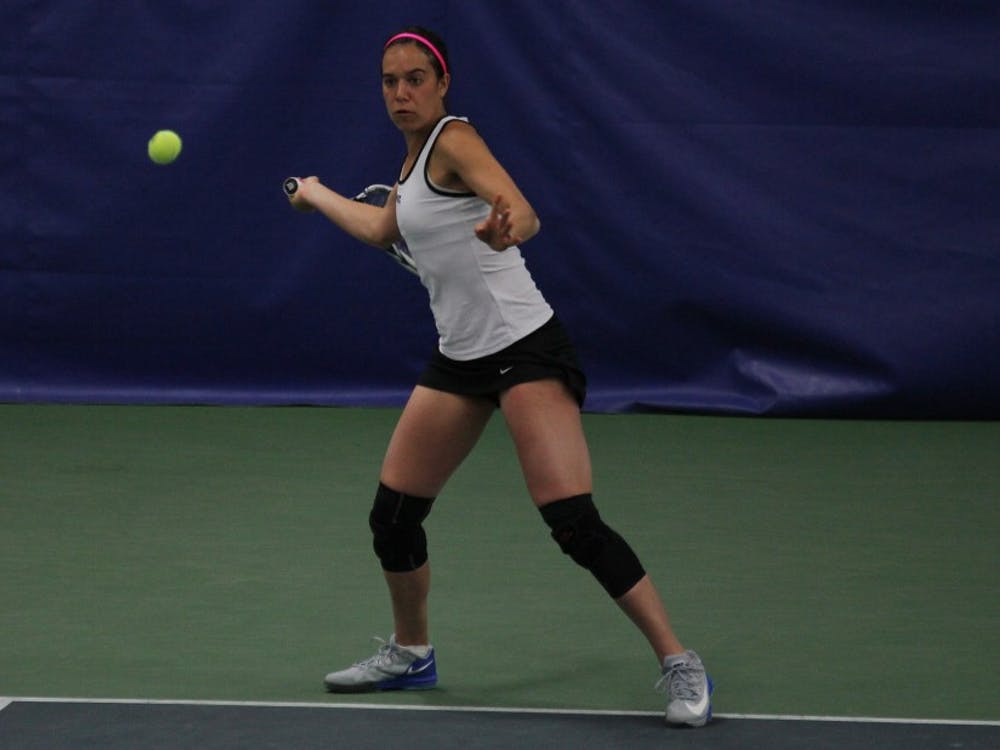 The Blue Devils took care of the Pilots and Bulldogs this weekend to punch their ticket to next month's ITA National Women's Indoor Team Championships.