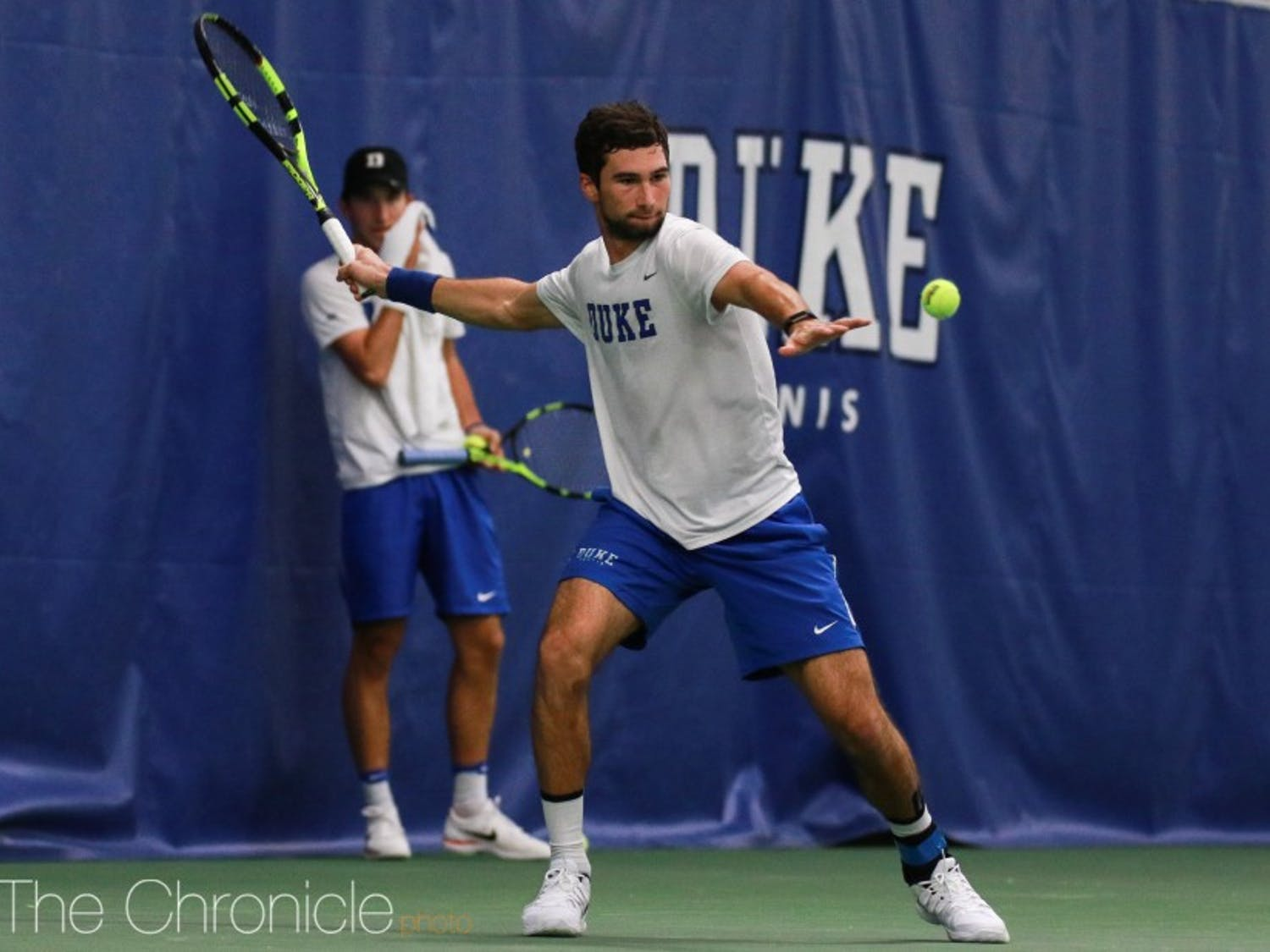 Catalin Mateas spent most of his time in the second singles position last season.