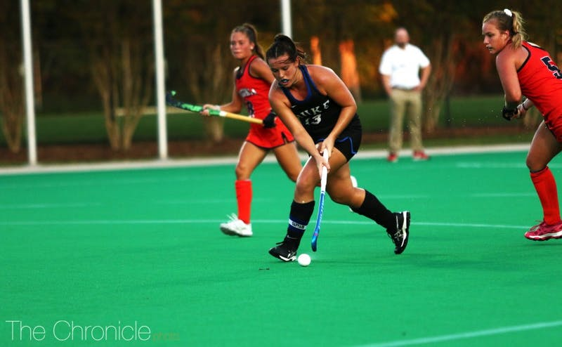 Rose Tynan faced North Carolina for the final time of her career Sunday.