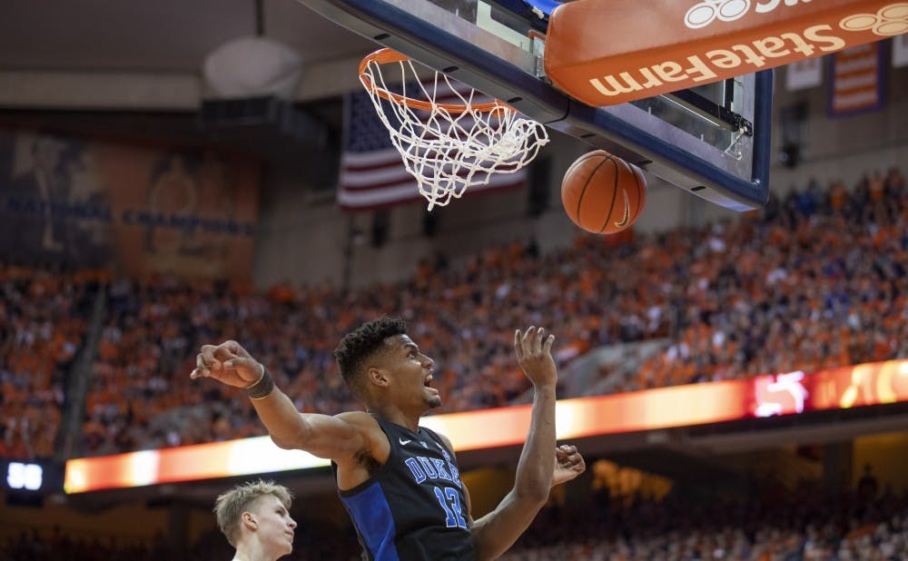 <p>Against Virginia Tech, Javin DeLaurier will be asked to attack the paint more often and also attempt to slow down Hokie big man Kerry Blakshear Jr.</p>