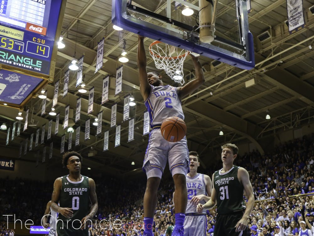 Cassius Stanley was Duke's lowest-rated recruit, but so far he has been a slam dunk for the Blue Devils.