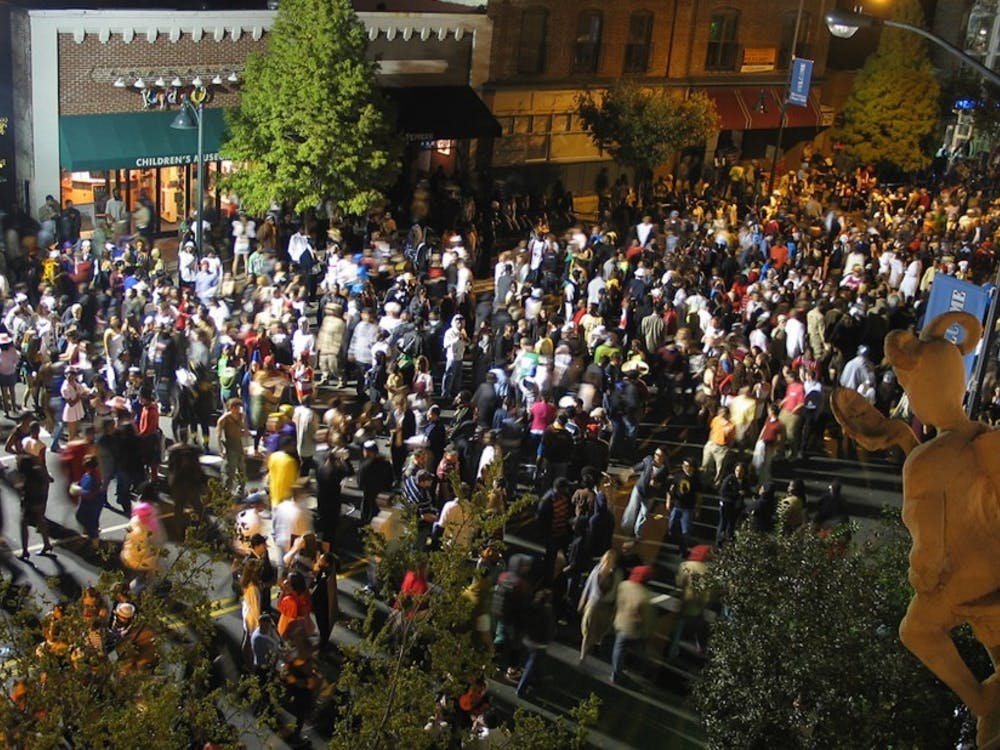 Chapel Hill's Homegrown Halloween celebration on Franklin Street is one of the most popular Oct. 31 events in the Triangle.