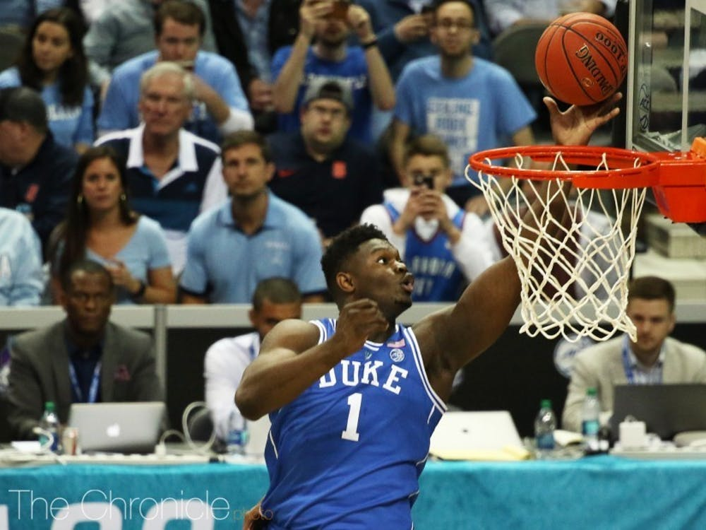 Zion Williamson's NBA destination was likely decided Tuesday night.