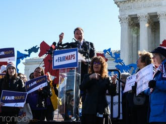 "Arnold Schwarzenegger, the former governor of California and star of the ""Terminator"" franchise, spoke against gerrymandering at the U.S. Supreme Court."