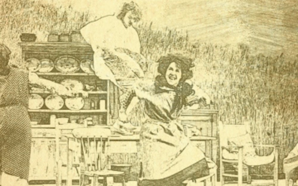 """""""Dancing at Lughnasa,"""" Duke's fall Theater Studies show, is set during the summer of 1936 in a fictional Irish town."""