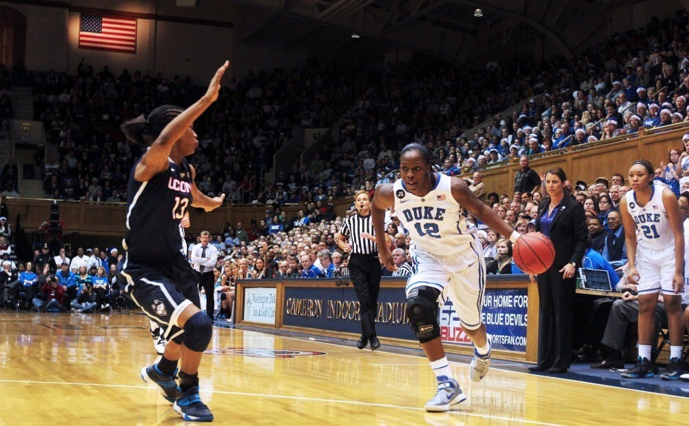 Chelsea Gray became the first former player from the Duke women's basketball program to make the U.S. Olympic team.