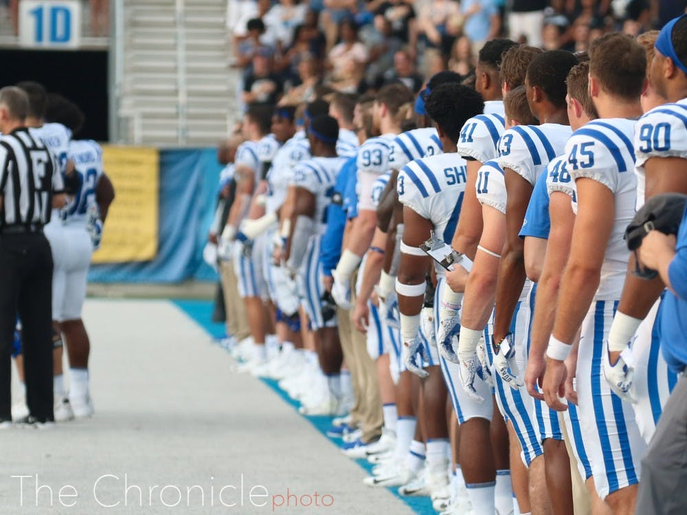 <p>The Blue Devils will take on Virginia Tech in a hostile environment Friday.</p>