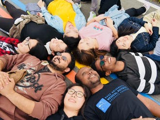 Students from Duke Kunshan University. Photo taken by Ray Zhu, a DKU student.