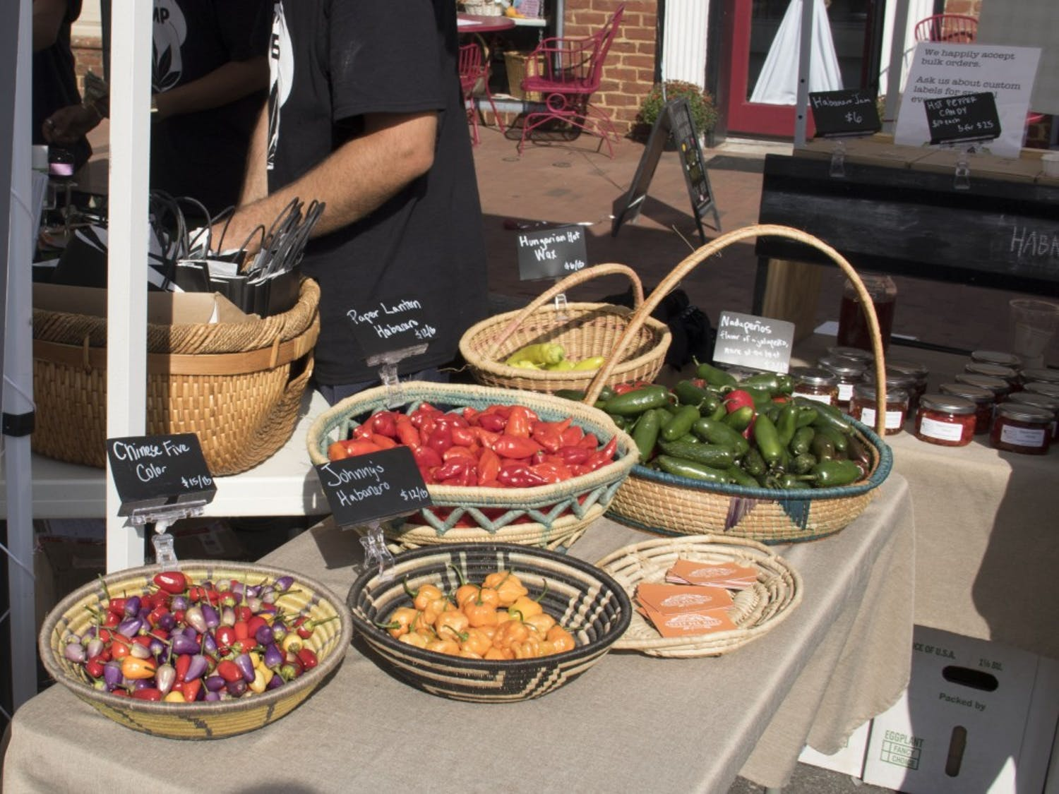 Dozens of vendors gathered in downtown Pittsboro for North Carolina's annual PepperFest.