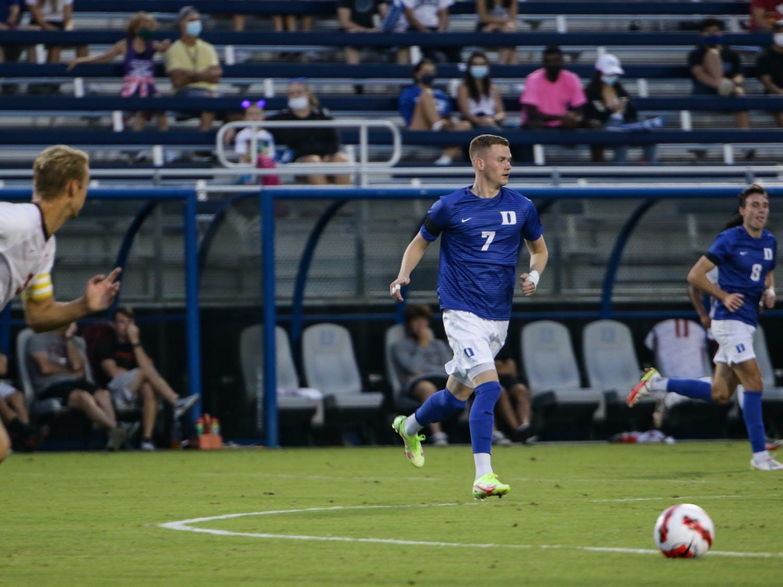 Sophomore Thorleifur Ulfarsson scored Duke's lone goal in the 82nd minute of play.