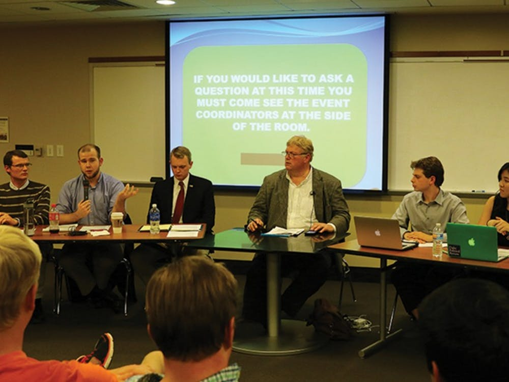 Monday's campus debate covered a range of political issues from LGBTQdiscrimination to the national debt.