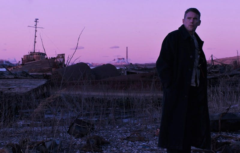 """""""First Reformed,"""" starring Ethan Hawke as the reverend of an old church in upstate New York, is a deep character study of a tormented American soul."""