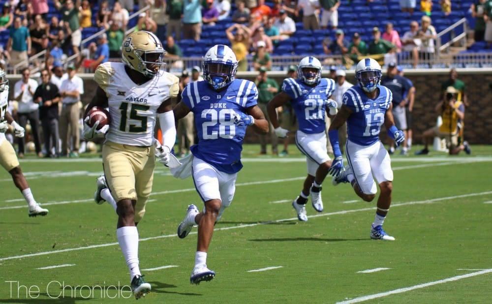 <p>The Blue Devils will take on Baylor for the second year in a row next month.</p>