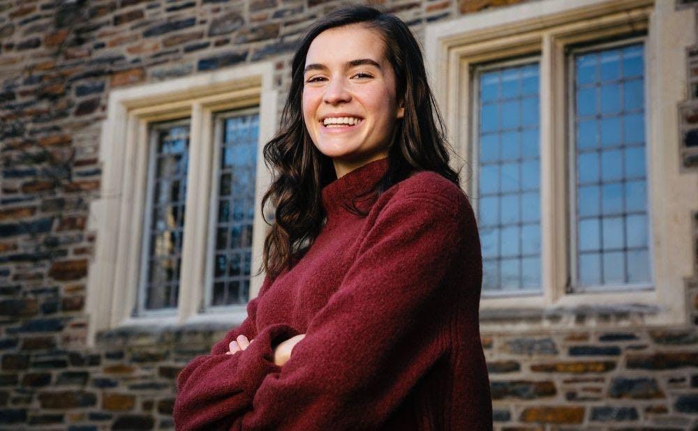 <p>Gabriella Deich, Duke's 50th Rhodes Scholar.</p>