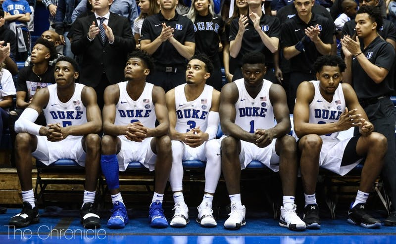 The 2018-19 Blue Devils will kick off the season Tuesday against Kentucky.